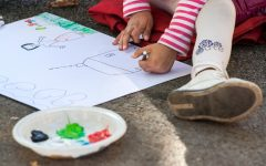 Art helps children with special needs to express themselves