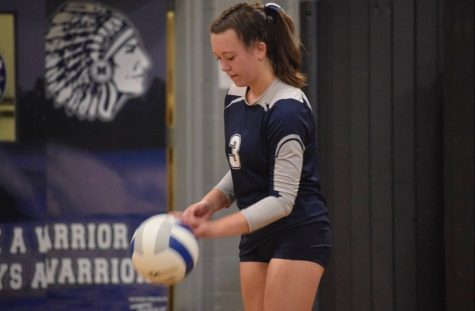 This is Stark's first year playing volleyball for Manasquan High School's varsity team, as well as the first year that the school has offered volleyball as an official sport.