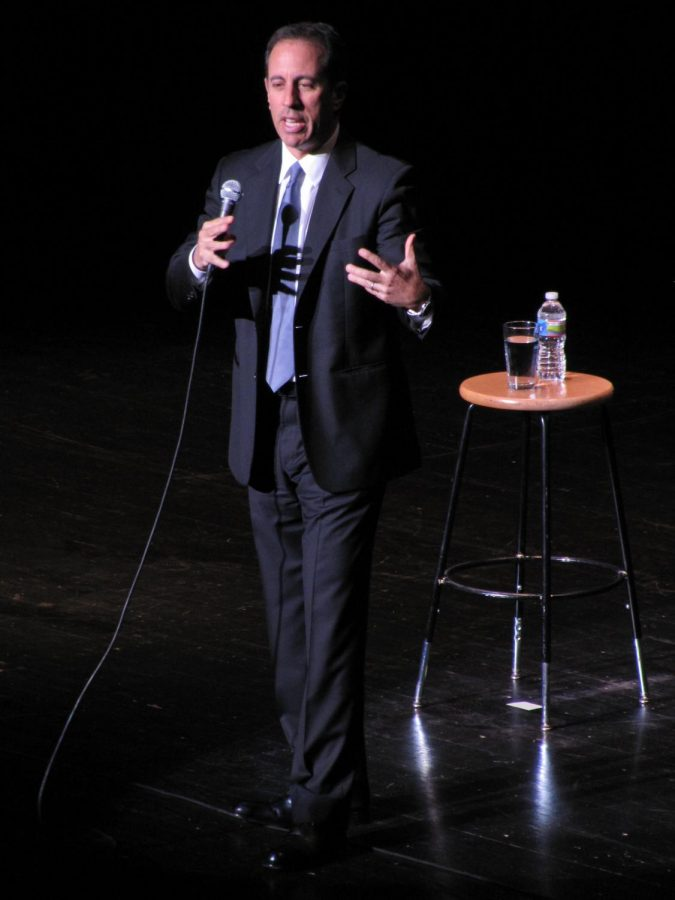 Comedian Jerry Seinfeld, above, is known for his strong opposition to