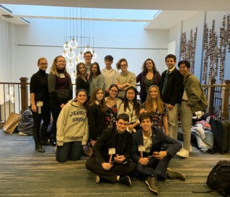 NAHS visits The Metropolitan Museum of Art