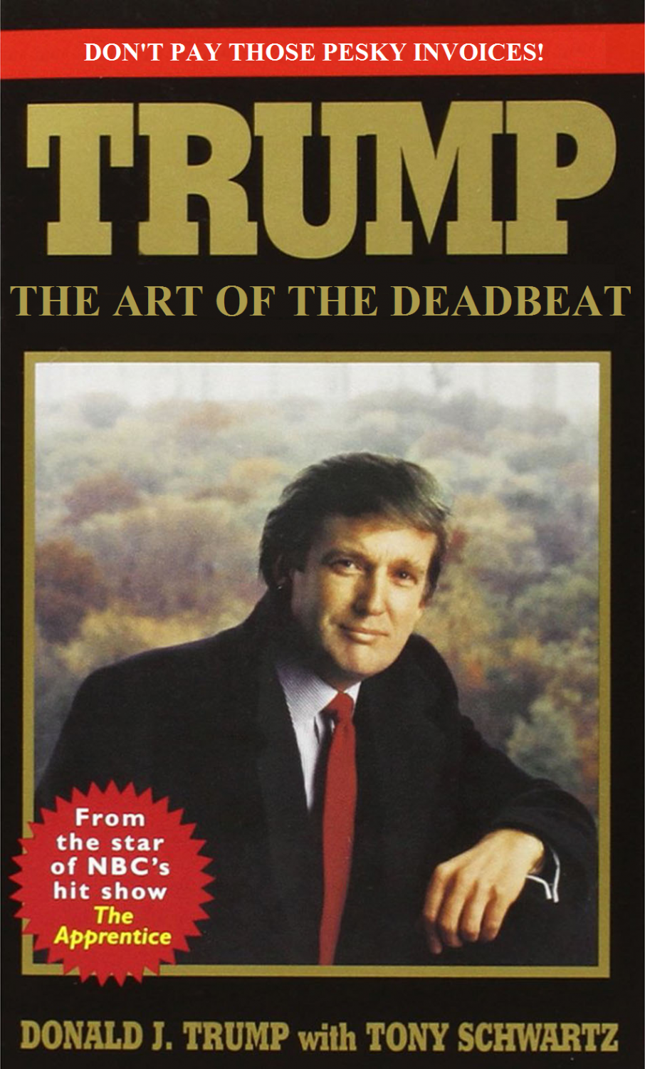 """In 1987,  Donald Trump's ghostwriter, Tony Schwartz. followed Trump for around 18 months while he was completing daily tasks and managing his business to gather information to write """"The Art of the Deal,"""" which became a bestseller.  https://creativecommons.org/licenses/by/2.0/"""