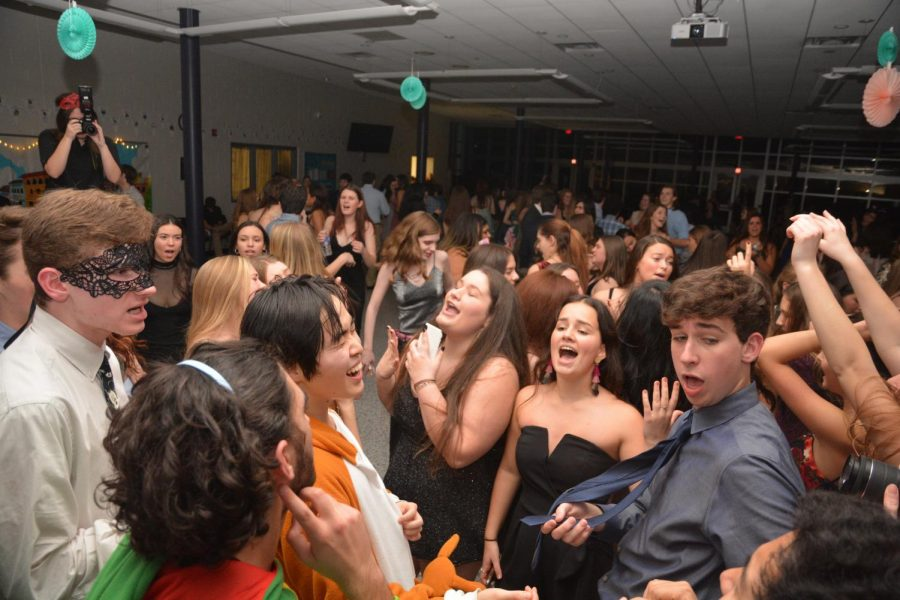The sophomore class hosted Winter Ball at  CHS on Friday, Jan. 10.