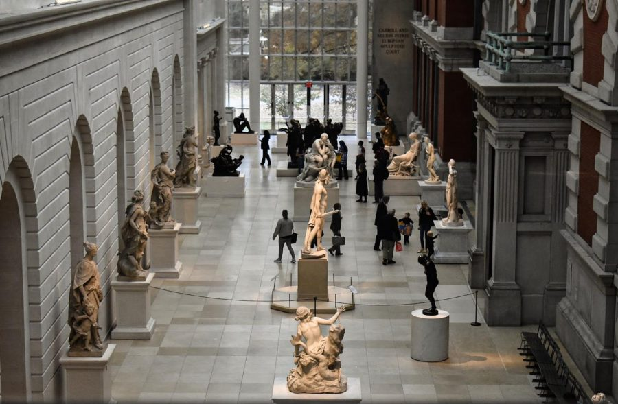 A photo captured from NAHSs trip to the Metropolitan Museum of Art.