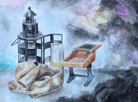 "THE ARTIST'S BLOCK: ""A Wizards' Cove"" by Adah Shimanovich"