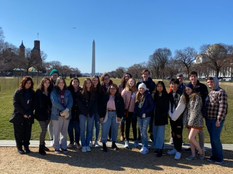 The Junior State of America attended Winter Congress in Washington, D.C. from Feb. 21 to Feb. 23. Five out of the six new council members attended the trip.
