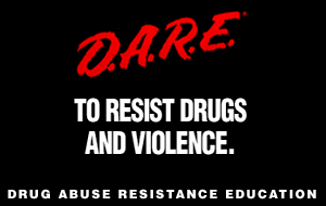 DARE is the most widely used prevention program in American education. https://creativecommons.org/licenses/by/2.0/