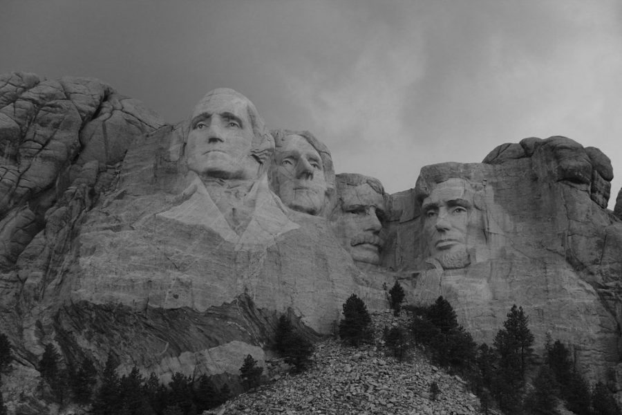 Two of the four presidents on Mount Rushmore, George Washington and Thomas Jefferson, owned slaves in their lifetimes.