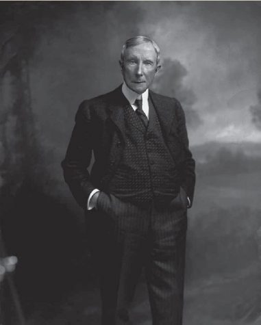John D. Rockefeller, owner of Standard Oil – the only big oil company in the 1890s.