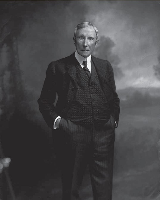 John D. Rockefeller, owner of Standard Oil – the only big oil company in the 1890s.