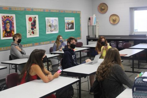 Fall Spirit Week Day 3 event is a virtual scavenger hunt which  tightened scores.