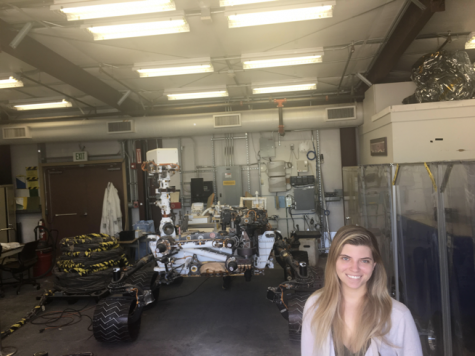 Class of 2011 alumna Shannon Towey is out of this world