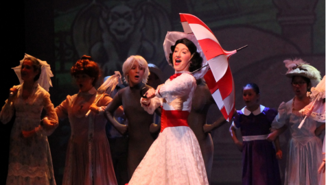 Lang steals the show as Mary Poppins at Count Basie Theater on March 3, 2020.