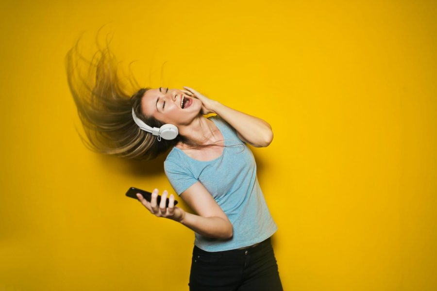 """Songs in Sonic Blumes debut album """"We're Drifting Further Apart, Aren't We?"""" have many students wanting to get up and dance. https://unsplash.com/license"""